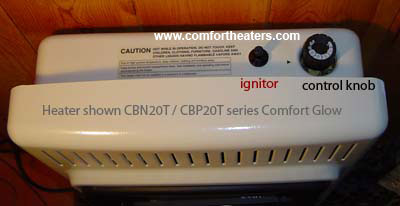 Cbt30pt Comfort Glow Blue Flame Heaters On Sale